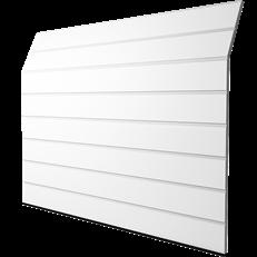GPE Basic M-Profil Woodgrain, vit, 2500 x 2000