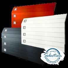 Spektra - wide takskjutport - M-Profil