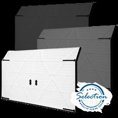 Shetland -  wide takskjutport - S-Profil