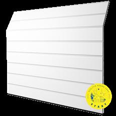 GPE Basic M-Profil Woodgrain, vit, 2500 x 2125