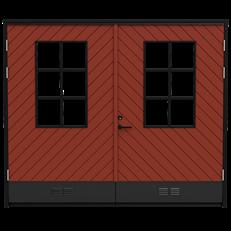 Saltsjö Boo (2 färg), slagport - Fiskben