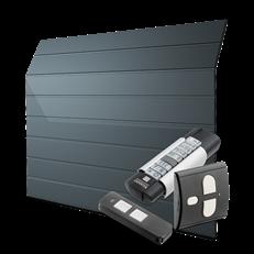 GPE400- automatisk port med tillbehörspaket deluxe - M-Profil