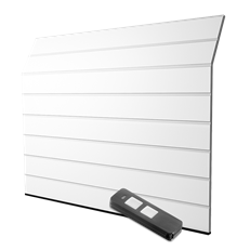 GPE400- automatisk port med en fjärrkontroll - M-Profil